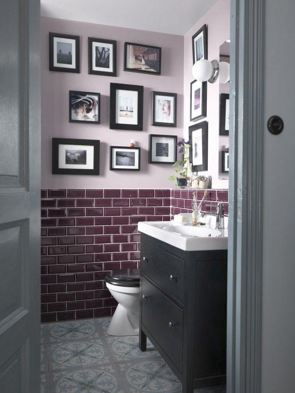 Mustertapeten Richtig Tapezieren : Bathroom Tile