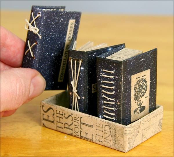 Constellations Matchbox Library by Kay Williamson #ClubScrap