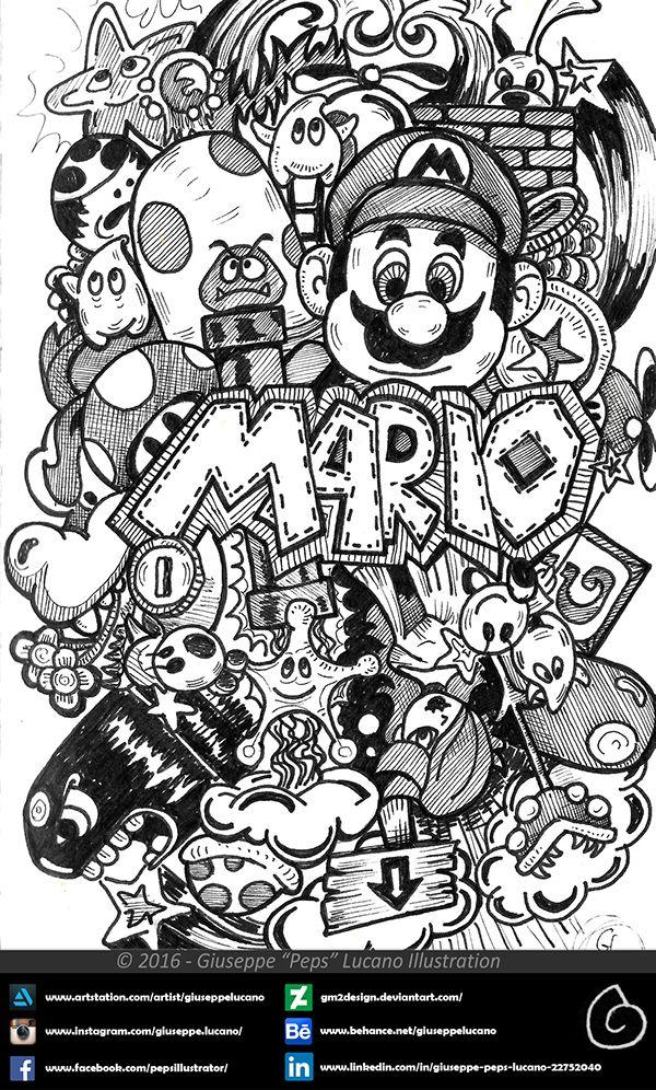 Doodle Art Coloring Pages Doodles Draw