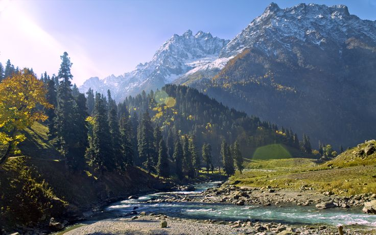 Sonamarg. Valley in Jammu and Kashmir, India
