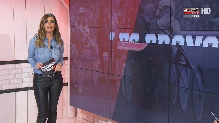 Amelie Bitoun French Presenter Leather Pants 4 1 2017