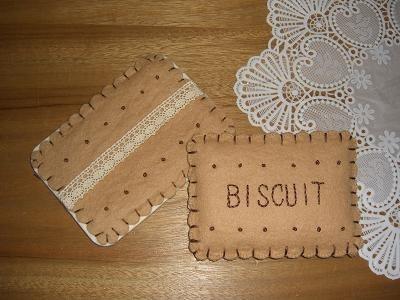 ビスケット型 ティッシュケースの作り方|フェルト|編み物・手芸・ソーイング | アトリエ