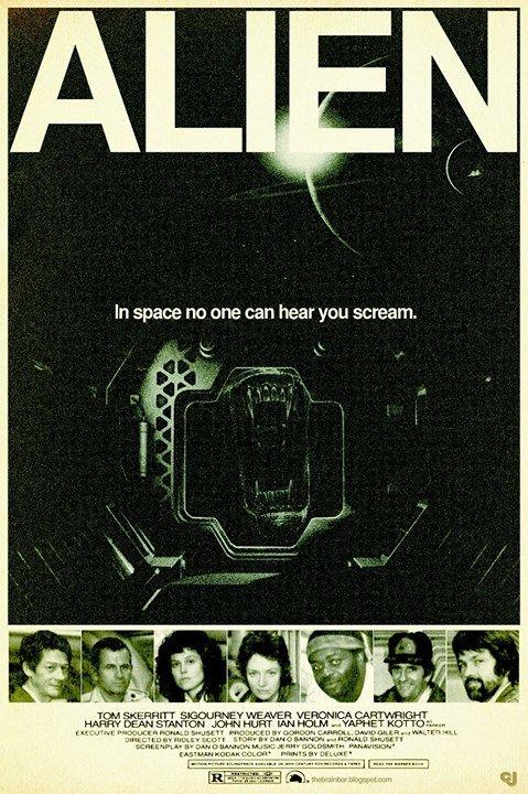 Original ALIEN Poster