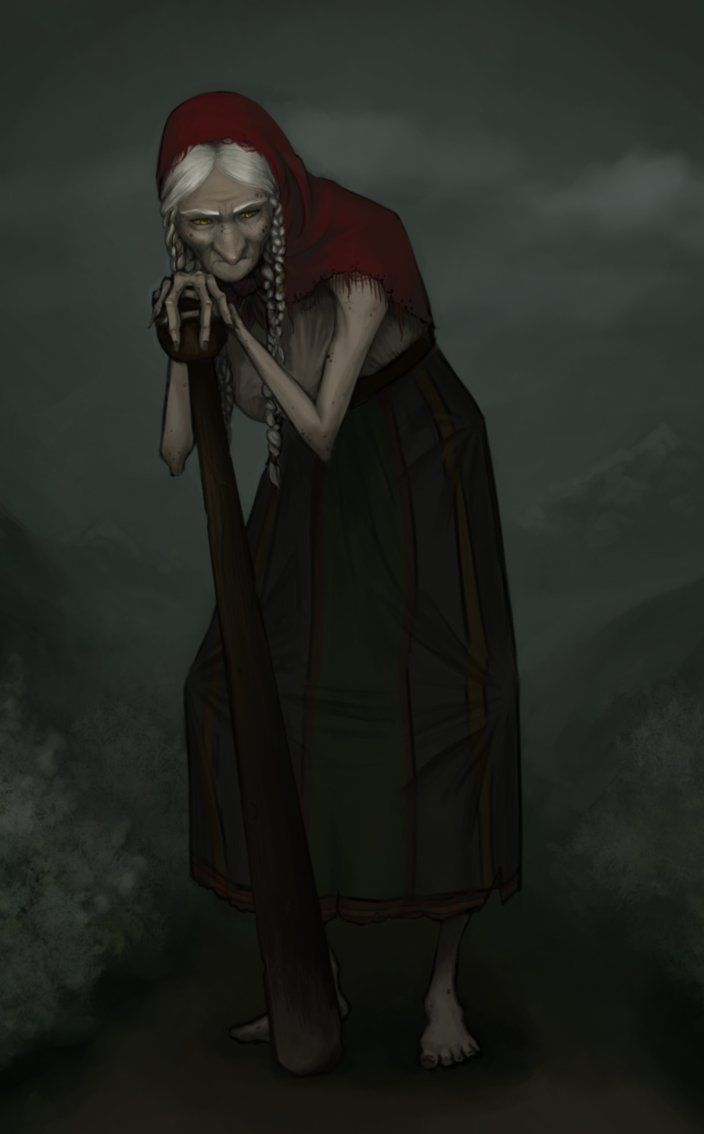 Baba Yaga | Baba Yaga by ~NotAHedgehog on deviantART
