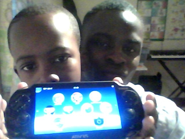 Just bought my lil bro FRESH PS Vita..... ECCLESIASTES 10:19!!!