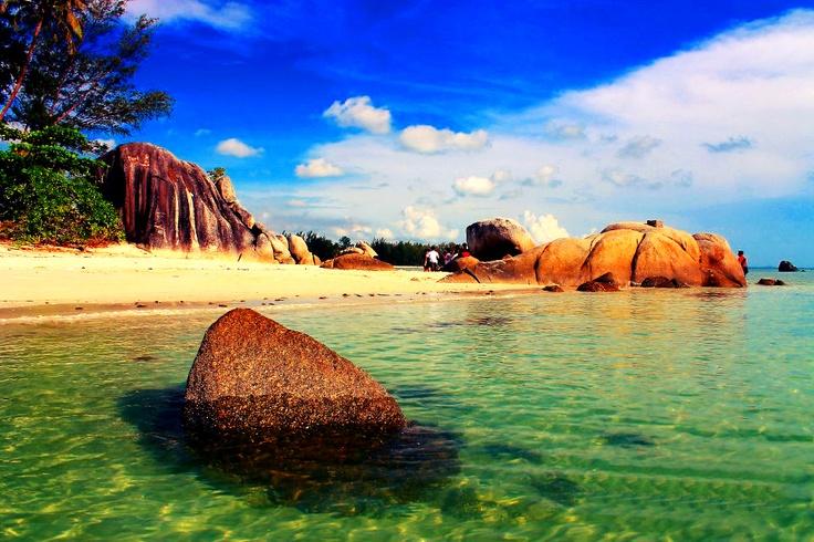 Romodong Beach on Bangka Island, Indonesia