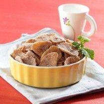 keripik pisang tabur kayumanis