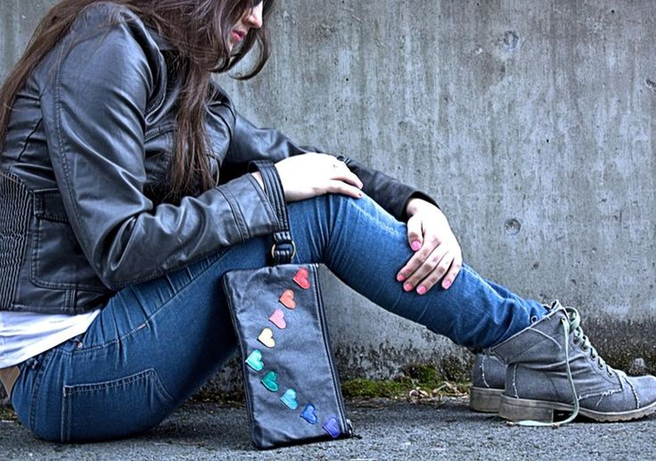 recycled leather purses and bags
