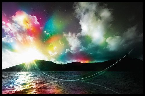 digital art selected for the daily inspirationClouds, Sky, Rainbows Bridges, Colors Photography, Beautiful, Digital Art, Chuck Anderson, Graphics Design, Heavens
