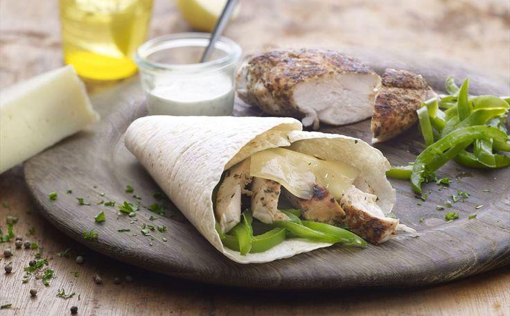 """""""Wraps De Pollo A Las Finas Hierbas"""" en Nestlé Cocina #recetas #nestlecocina #menuplanner #cocina"""