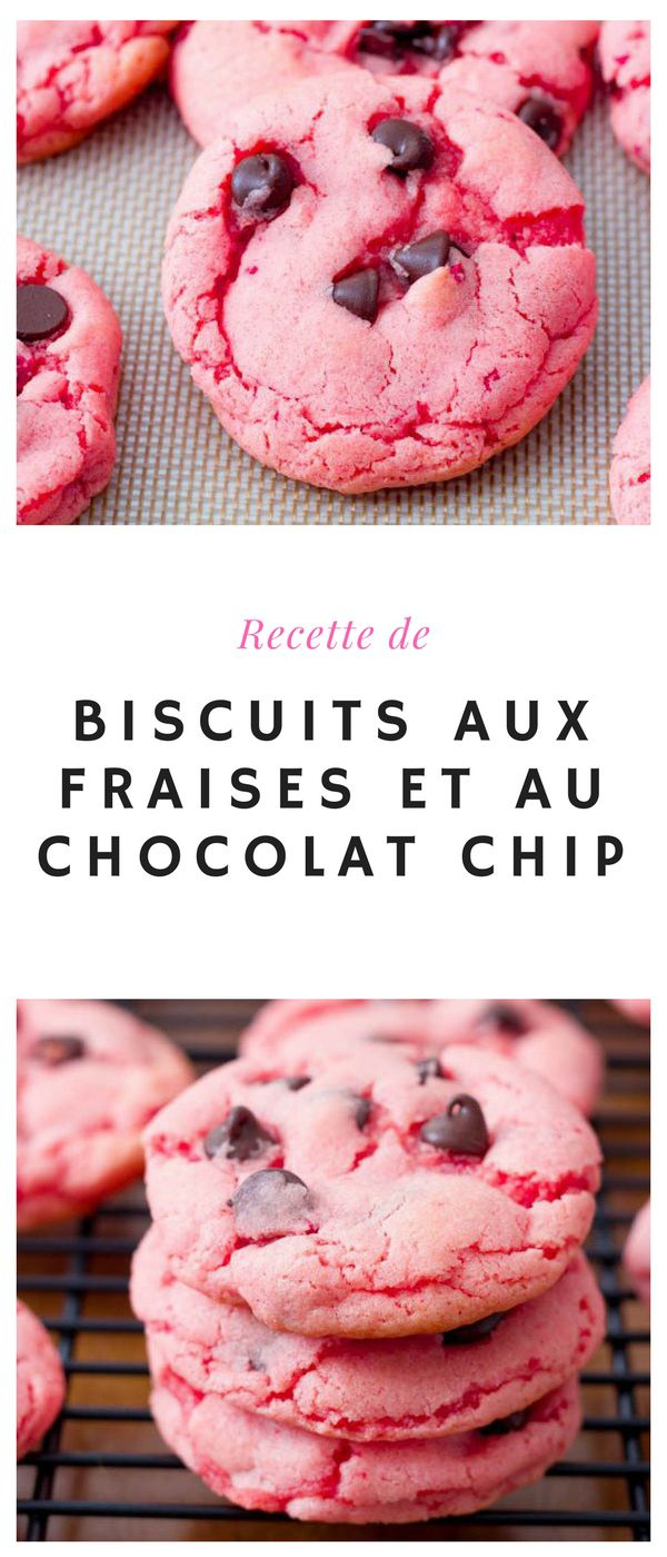 #biscuit #fraise #chocolate