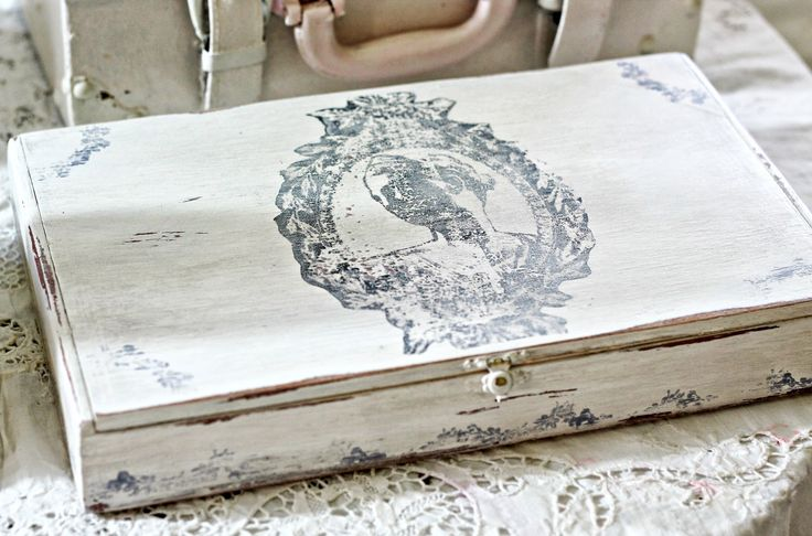 Shabby Sweet Cottage Cute Cigar Box project
