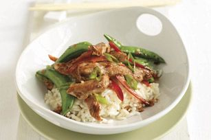 Made with Italian dressing, the tasty sauce in this super-easy stir-fry is sure to appeal to young and old alike!