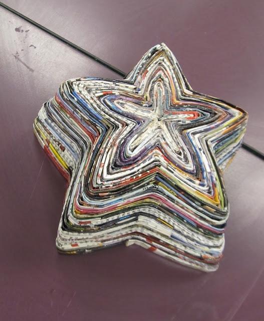 End of the Year Magazine Bowls | Art Teacher Beginnings