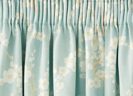 Lori Floral Pencil Pleat Ready Made Curtains Curtains