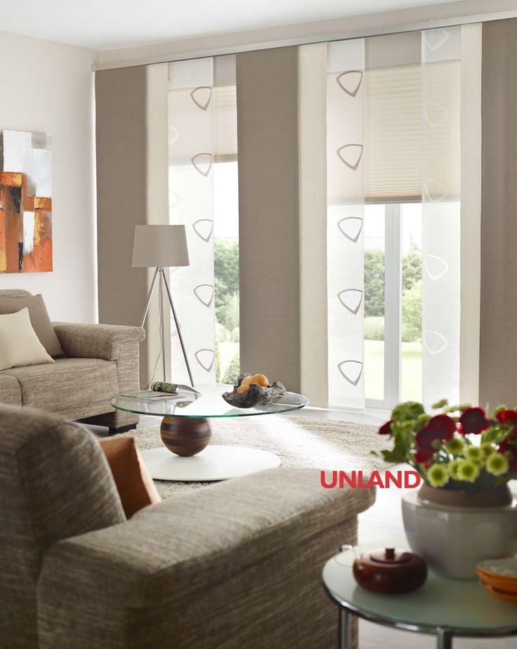 Unland Urbansteel, Fensterideen, Vorhang, Gardinen und Sonnenschutz - curtains, contract fabrics, pleated blinds, roller blinds and more. Made in Germany