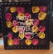 Image result for rolled flower shadow boxes
