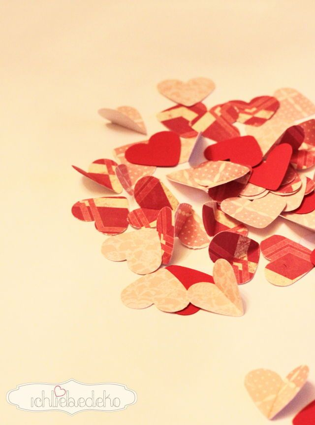 Karten Zum Valentinstag Selber Machen U2022 Ich Liebe Deko