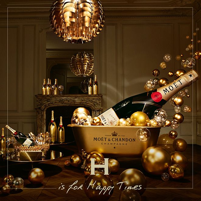 To celebrate the end of 2014 and the holiday season, Moët & Chandon has launched a glamorous A-to-Z style guide sharing tips for champagne lovers around the world. The release coincides with the release of a limited edition