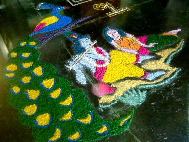 Entry by Kanika Goel(4) #Diwali #Rangoli