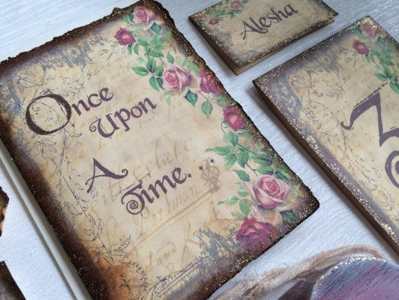 Booking deposit for Once upon a time by EnchantingStationery