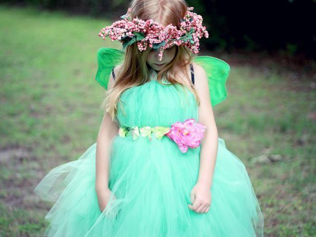 DIY HALLOWEEN COSTUMES : DIY Fairy Princess Halloween Costume