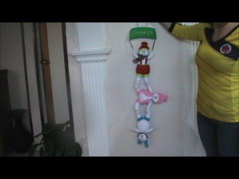 Muñecos de Nieve Colgantes,