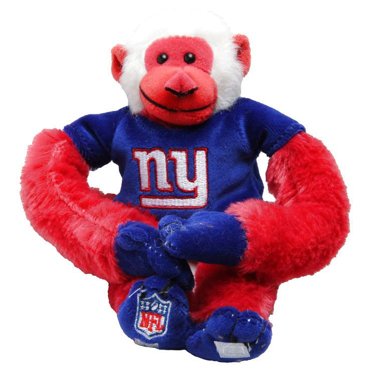 New York Giants Team Baby Monkey Plush - $7.99