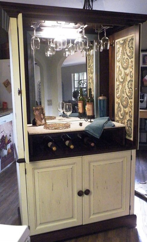 26 Best Tv Armoires Repurposed Images On Pinterest