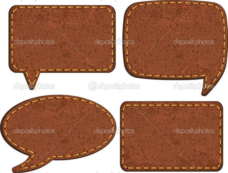 набор Этикетки кожаные джинсы. вектор - Векторная картинка: 51087321