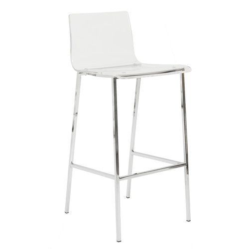 Shop Sia Contemporary Acrylic Bar Stool Set And Other Modern And  Contemporary Home And Office Furniture. Browse Our Selection Of Bar Stools  From Zuri ... Design