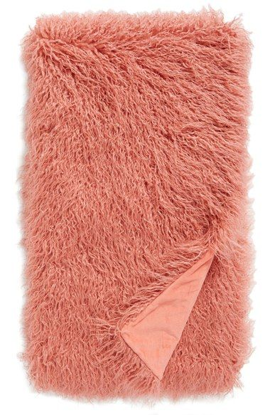Nordstrom at Home Mongolian Faux Fur Throw available at #Nordstrom