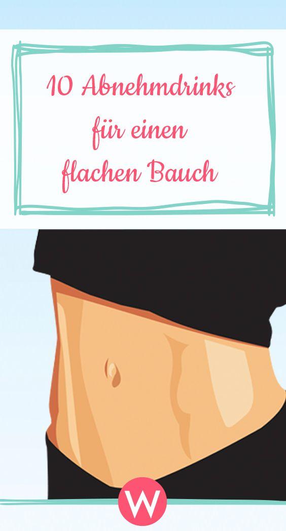 Dank dieser Abnehmdrinks ist dein Bauch bald super flach! #abnehmen #diät #flacherbauch