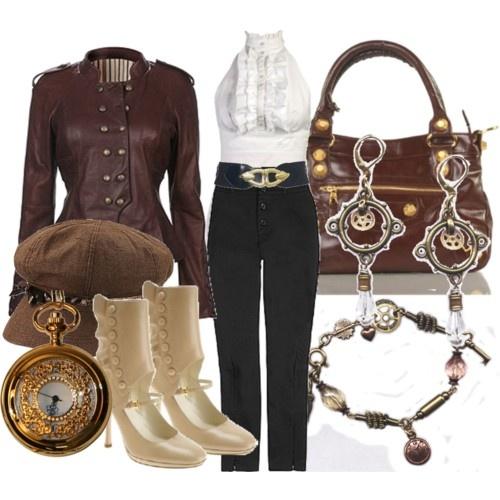 Casual steampunk