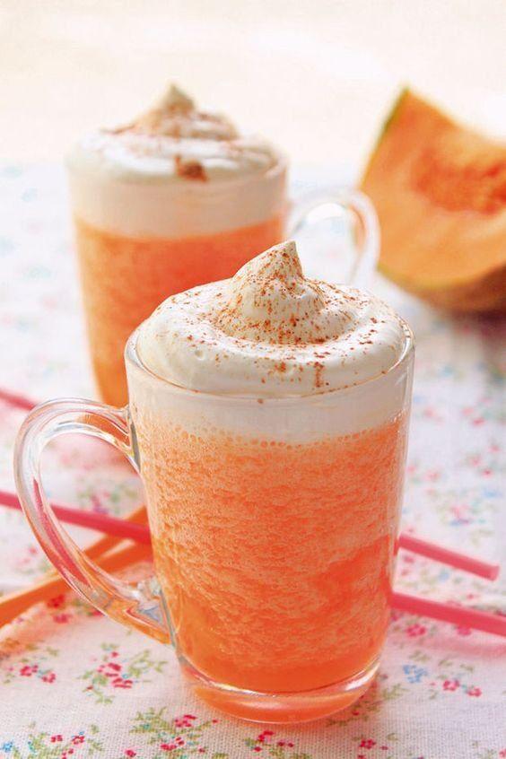 La recette: Capuccino glacé au melon.© DR