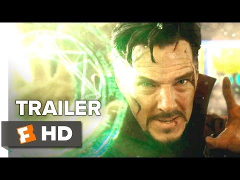 Doctor Strange Official Trailer 1 (2016) - Benedict Cumberbatch Movie - YouTube