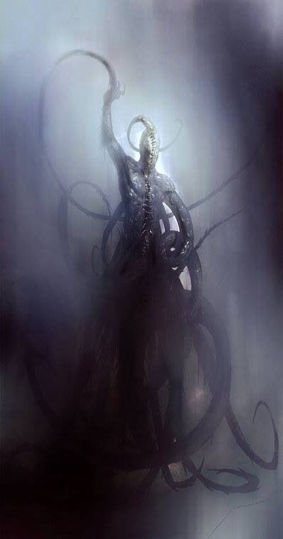 "Nyarlathotep: ""I am the last... I will tell the audient void..."" / H.P. Lovecraft"