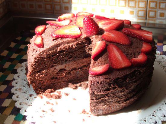 Super torta (vegan) al cioccolato