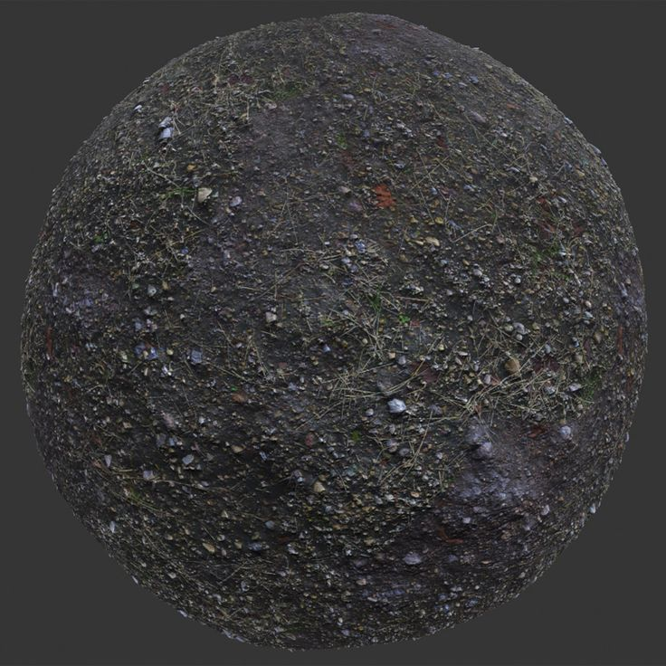 Rocky Dirt PBR Material Game design, Texture, Physically