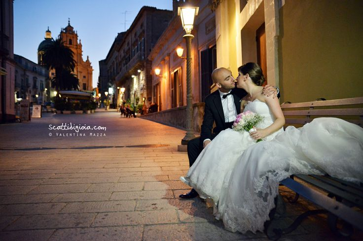 www.scattidigioia.com Ragusa Ibla, an ancient city of Sicily,  also UNESCO World Heritage Site, hosted us for this very chic wedding.