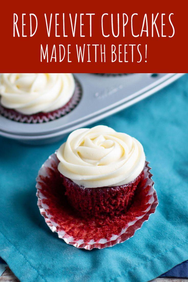 Beet Red Velvet Cupcakes No Food Coloring A Nerd Cooks Recipe Beet Red Velvet Cake Vegan Red Velvet Cupcakes Red Velvet Cake Recipe