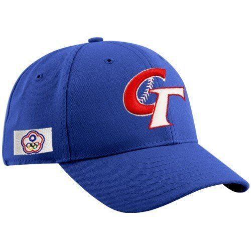 World Baseball Classic New Era Chinese Taipei 2009 World Baseball Classic Royal Blue Team Adjustable Hat by New Era. $21.95. New Era Chinese Taipei 2009 World Baseball Classic Royal Blue Team Adjustable HatSix panels with eyeletsWorld Baseball Classic logo embroidered on back70% Acrylic/30% WoolStructured fitAdjustable hook and loop fastener strapQuality embroideryImportedQuality embroiderySix panels with eyeletsWorld Baseball Classic logo embroidered on backStructured fitA...