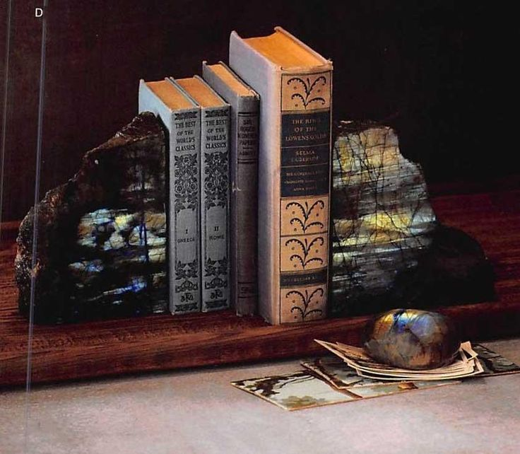 $190.00 Roost Labradorite Bookends