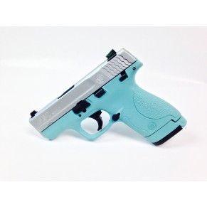 Tiffany Blue S&W Shield 9mm