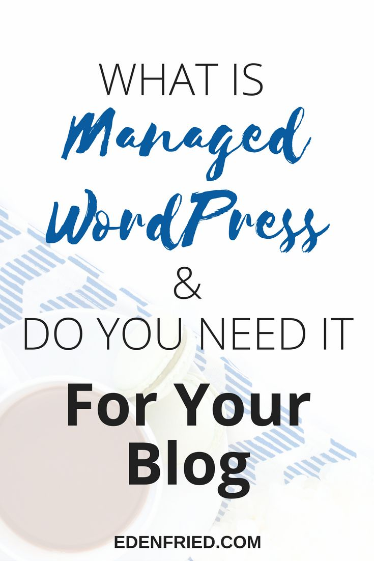 Best Managed WordPress hosting. Do you need managed wordpress hosting for your blog? Learn everything you need to know right here.