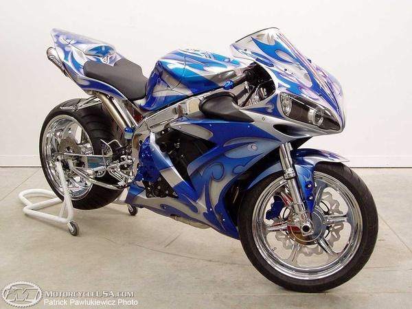 custom Yamaha R1 sport-bike-motorcycles