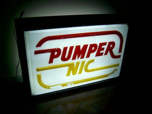pumper nic - letrero