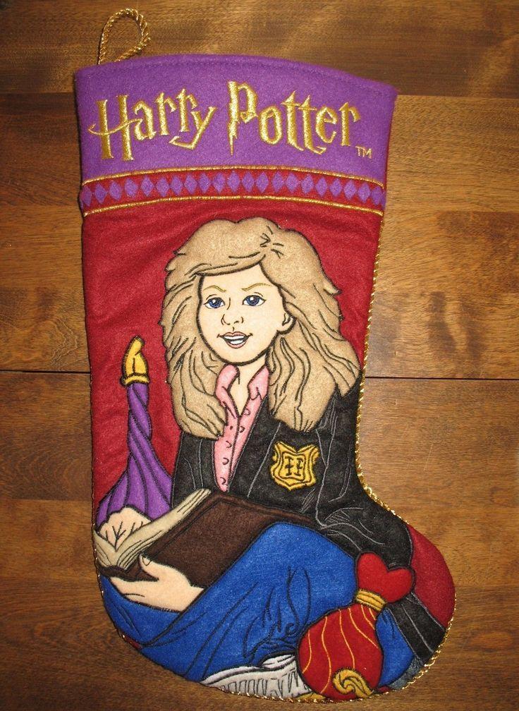 Hermione Granger Christmas Stocking Harry Potter