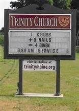 Church Sign Sayings - Bing images