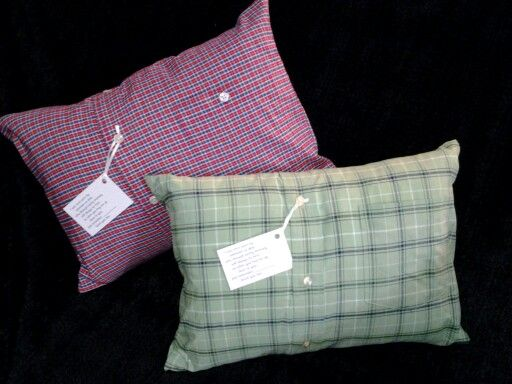 Memory Pillows Made From Loved Ones Shirts Looke Me Up On